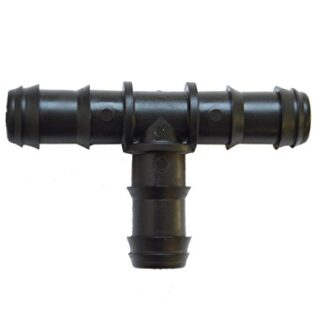 S&M 541995 Te de Goteo 16 mm-Blíster 50 Unidades, Negro, 10 x 14,5 x 2...