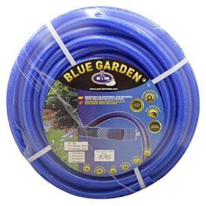S&M 553134 Manguera de jardinería Reforzada Blue Garden 50 Metros, Azu...