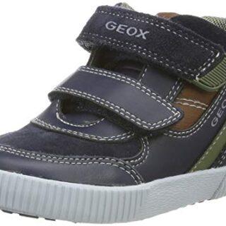 Geox B Kilwi Boy A, Zapatillas para Bebés, Azul (Navy/Cognac Cf46n), 2...