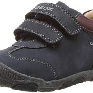 Geox B New Balu' Boy A, Zapatillas para Bebés, (Navy/Bordeaux C4335), ...