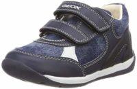 Geox Baby Each Boy, Zapatillas para Bebés, Azul (Navy C4002), 20 EU