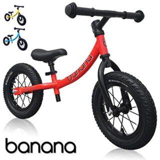 Banana Bike GT - Bicicleta Sin Pedales Ligera - Niños 2, 3 y 4 Año (Ro...