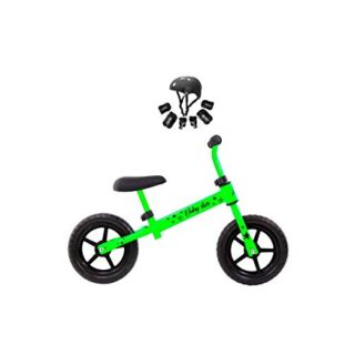 Bicicleta K-2 Group Minibike para niños Baby Star Green Fluor
