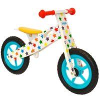 Bicicleta sin pedales de madera boppi® para niños de 2 a 5 años - Estrellas