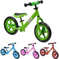 Bicicleta sin pedales de metal boppi® para niños de 2 a 5 años - Verde