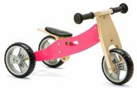 Nicko Mini - Bicicleta de carrera 2 en 1 (Madera, 18 meses, 3 años), ...