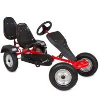 Coche de pedales TecTake Go Kart Red