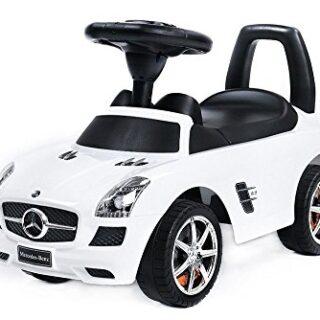 Paseo en vehículo - Coche para niños - Mercedes SLS AMG Blanco