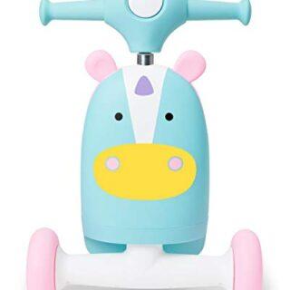 Skip Hop Zoo 3 en 1 bicicleta de juguete, unicornio
