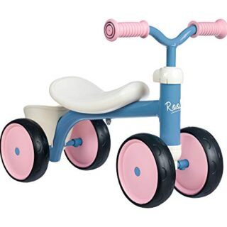 Smoby- Rookie Rosa Cargadora de 4 ruedas, color (721401)