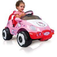 Hello Kitty - Bubble 6V Car, color rosa y rojo (Injusa 71014)
