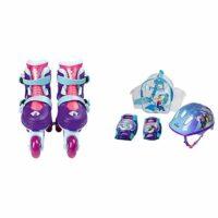 Disney Frozen OFRO084 Patines en línea, 2 en 1, tamaño ajustable 27-30 ...