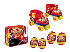 Mondo - 28105 - Juego de patines de ruedas + Protecciones Cars