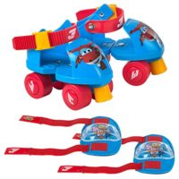 Super Wings Patines Ajustables (Colorbaby 77012)