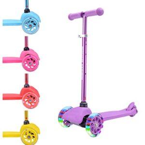 BOLDCUBE Scooter de tres ruedas - Ultra ligero 1.8 kg - para niños de ...
