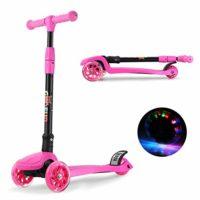GOSFUN EU Scooter 3 ruedas con diseño de scooter para niños de 2 a 12 ...