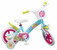TOIMSA - Bicicleta de 12 pulgadas, modelo Flores 3-5 años, 12001, Mul ...
