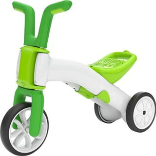 Chillafish BUNZI2 - Balance Bike 2 en 1, Color Verde Lima