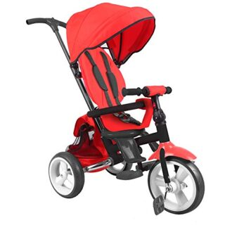 DV Baby Evolutionary Tricycle Triciclo plegable con asiento giratorio 360 ...