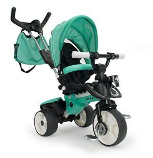 INJUSA- City MAX Triciclo, color verde, 21 x 10 x 5 cm (3270)