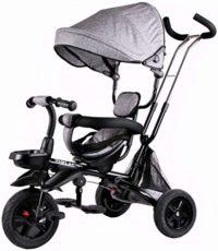 Kidz Motion Triciclo para niños Bicicleta plegable para niños | Asiento ...