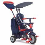 SMARTRIKE - Triciclo Shine, Color Azul y Rojo (2036402502)