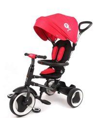 Triciclo evolutivo plegable QPlay Rito - Rojo - Niños de 10 a 36 m ...
