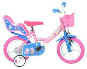 Bicicleta Dino Bikes 124rl-pig Peppa Pig, rosa, 30,5 cm