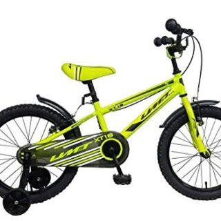 "Bicicleta Umit 18 ""XT18 Verde. Con frenos V-Break"