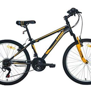 """Bicicleta Umit 24 """"XR-240 Negra. Con Shimano 18V Shift y Suspensión D ..."""