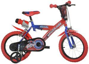 Dino Bikes Bicicleta para niños Spider Man de 14 pulgadas
