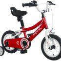 "Moma Bikes Infantil 12 ""Bicicleta con ruedas incluidas, Rojo, Unic S ..."