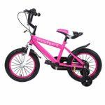 MuGuang Estudio de bicicleta para niños de 14 pulgadas Aprendizaje ...