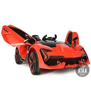 ATAA F1 Racing - Rojo - Espectacular coche eléctrico para niños Super ...