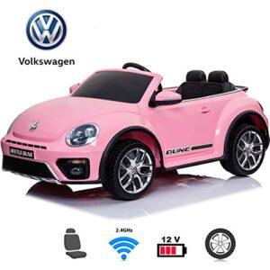 BC BABY CARS Coche eléctrico para niños - Volkswagen Beetle Dune Coc ...