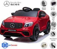 BC BABY CARS Mercedes GLC 63S - Coche eléctrico para niños con BATER ...