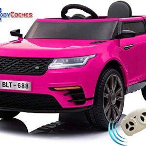 BC BABY CARS Urban SUV Coche eléctrico para niñas y niños con batería ...