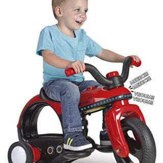 FEBER - Moto eléctrica para niños Spacebike 6 V con luces y sonidos (Fam ...