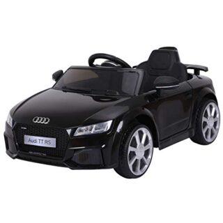 HOMCOM Audi TT Electric Infant Car Toy Niño 3-8 años con control remoto ...