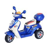 HOMCOM Triciclo de batería de coche de triciclo de motocicleta eléctrica para niños ...