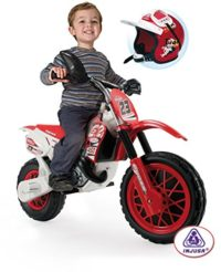 INJUSA - Moto Cross con batería de 6V para niños de 3 a 7 años con bandas ...