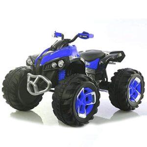 Quad eléctrico 12v para niños - Azul. Motocicleta eléctrica para niños con ...