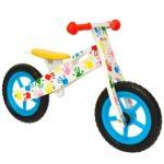 Bicicleta sin pedales de madera boppi® para niños de 2 a 5 años - Manos estampadas ...