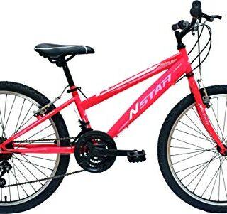 "Nuevo Star peñalara MTB Bike 24 "", niñas, fucsia, m"