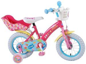 Peppa Pig - Canasta y asiento de ruedas extraíbles para bicicleta ...