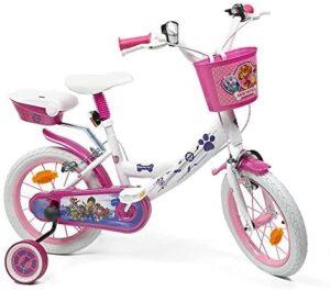 Skye Everest - Bicicleta de 14 pulgadas para niña con licencia de la P ...