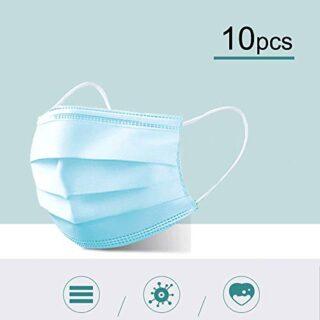 10 piezas máscaras desechables máscaras máscaras de saliva prote ...