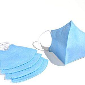 Aniwon 30 Piezas Máscara de boca lavable Anti-formaldehído transpirable ...
