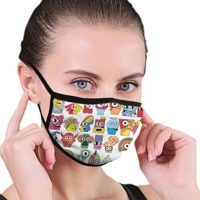 Dataqe - Máscaras de dibujos animados para la protección contra ...