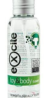 EXCITE Limpiador desinfectante para accesorios íntimos y copas menstruales ....